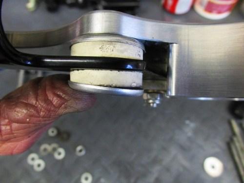 Instrument Bracket Large Rubber Busing Mouting Detail