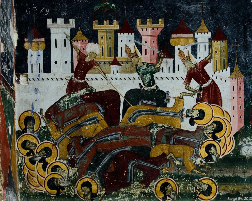 Fresco Sucevița Monastery