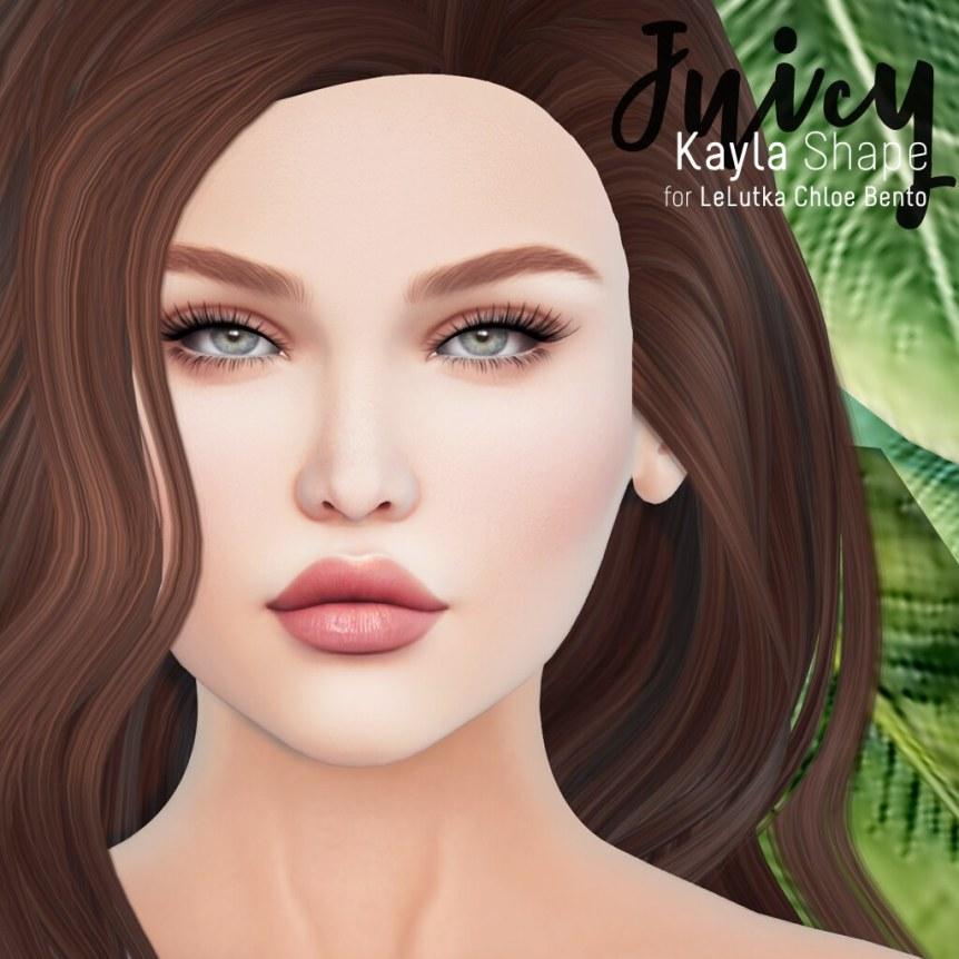 Juicy - Kayla // LeLutka Chloe Bento Shape
