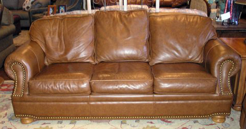 black leather sofa with nailheads steel frame thomasville olympus digital ca flickr homestylegalleries by