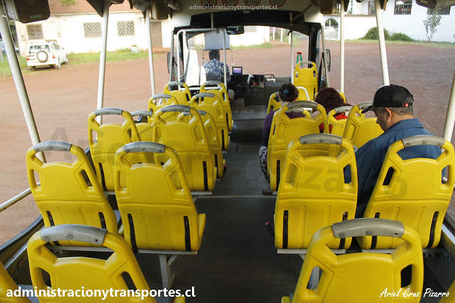 Bus Ara Moai (Maururu Travel) | Interior | Inrecar Géminis - Chevrolet / HJRY62