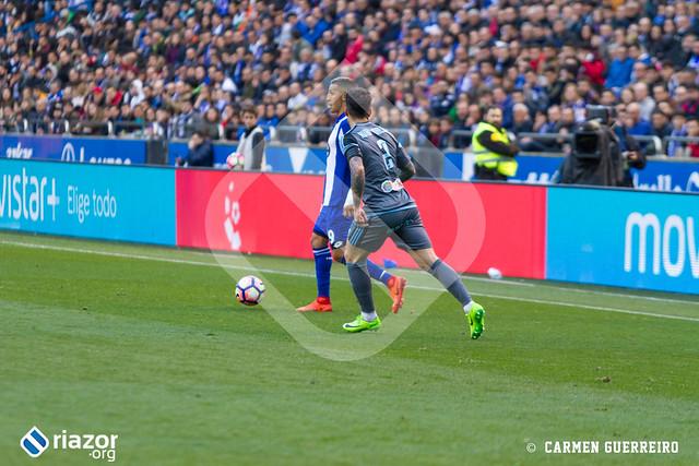 Temporada 16/17. RC Deportivo 0 - Celta 1.