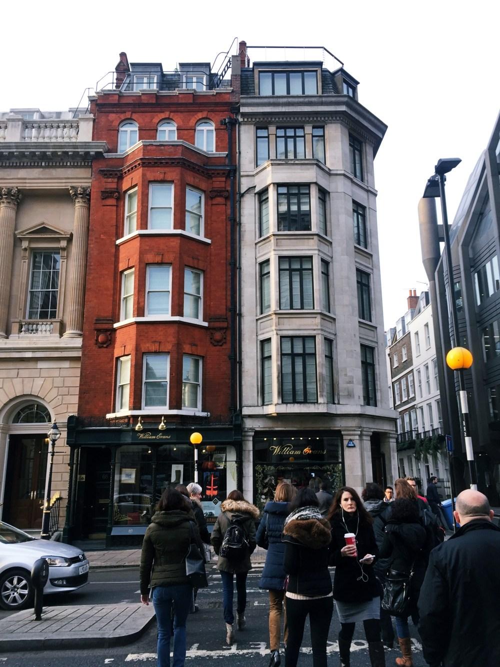 9 Dec 2016: St James's Street | London, England