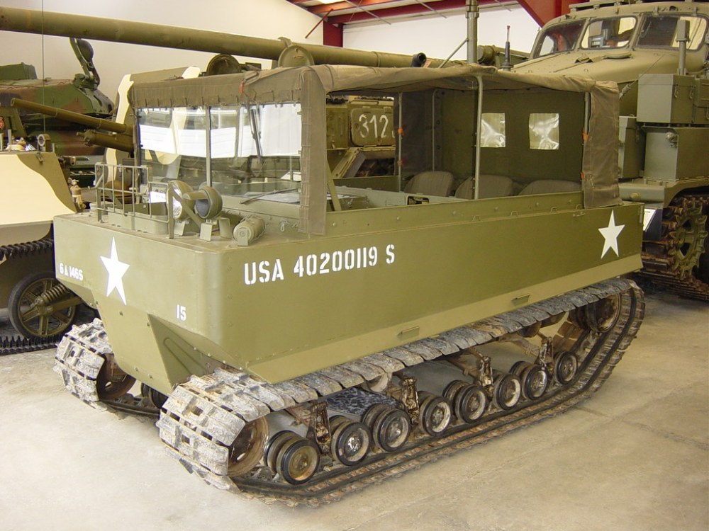 medium resolution of  us m29 weasel 1 by ian