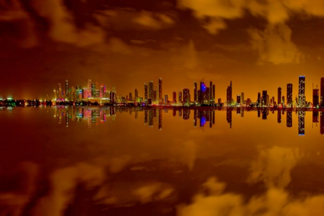 Reflections from the city of Miami, Florida, USA