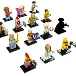 LEGO 71018 Collectible Minifigures series 17 personnage mystère