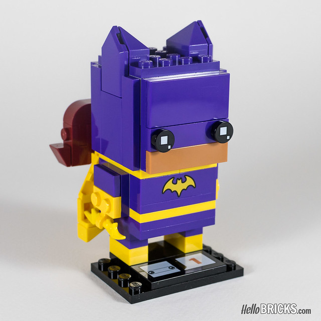 REVIEW LEGO BrickHeadz series 1 The LEGO Batman Movie 41586 Batgirl