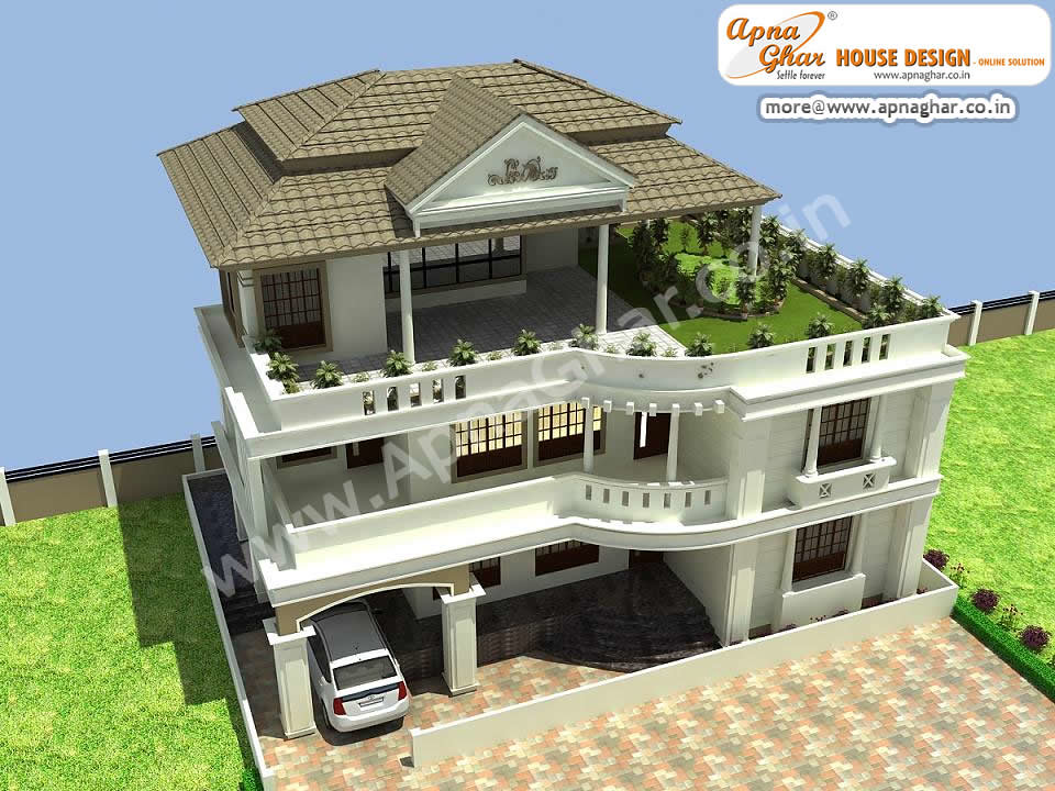 Beautiful Triplex House House Design Beautiful Triplex Hou Flickr