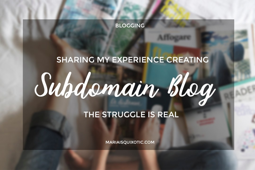 Subdomain Blog