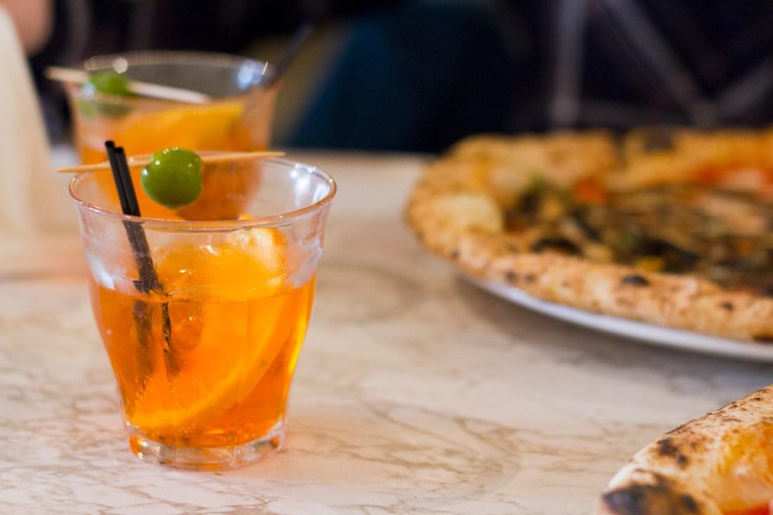 Aperol Spritz - Rudy's Pizza Manchester