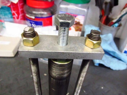 Top of Steering Stem Lower Bearing Puller