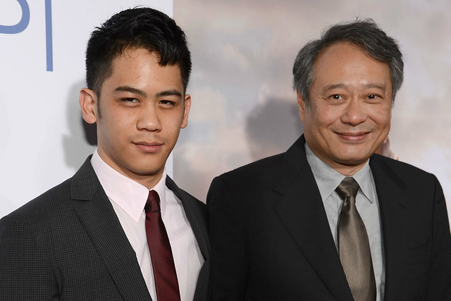 Ang Lee and Mason Lee