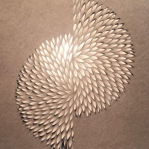 Paper cut sketch