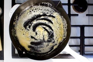 butter, flour