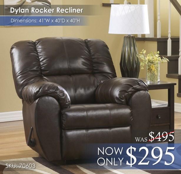 Dylan Rocker Recliner 70603-25-SD