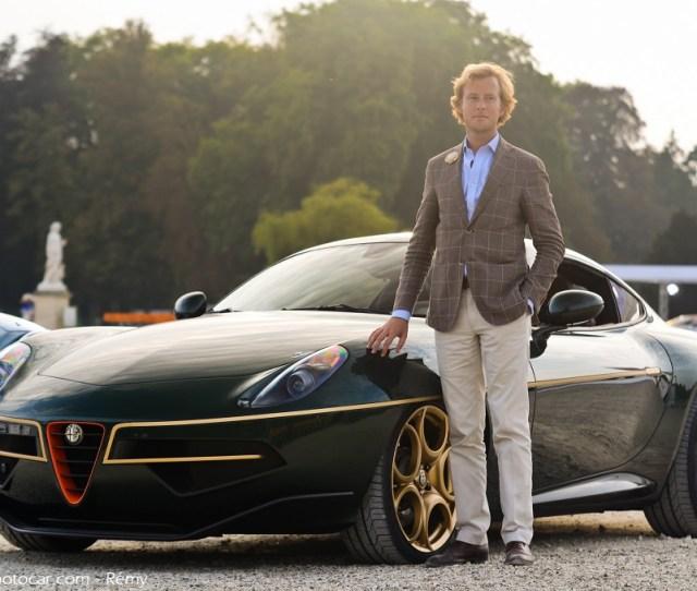 Alfa Romeo Disco Volante By Touring Superleggera Chantilly Arts Et Elegance  By Remy