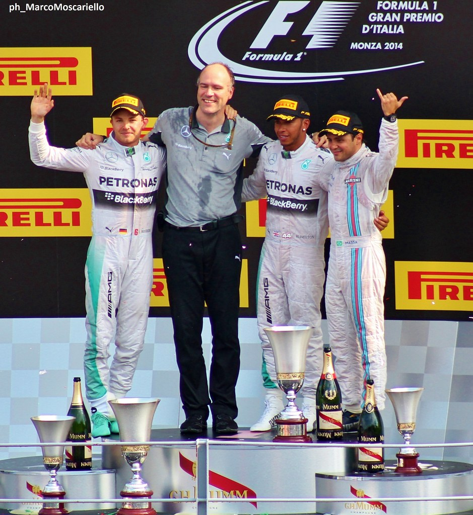 hight resolution of  f1 gp monza 2014 podium by marco moscariello