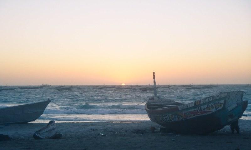 Port de Peche sunset