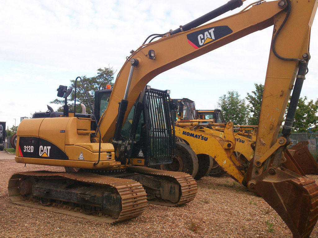 hight resolution of  caterpillar 312d excavator by 71b 70f ex jibup