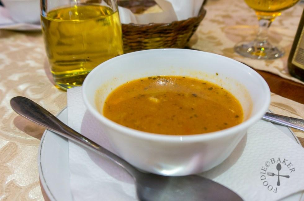 barley-veal soup