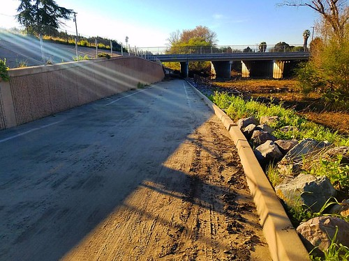 Guadalupe River Trail - flooding March 2017