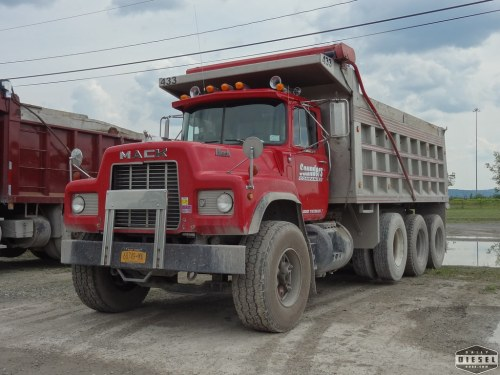 small resolution of  mack dm dump truck saunders companies by daily diesel dose
