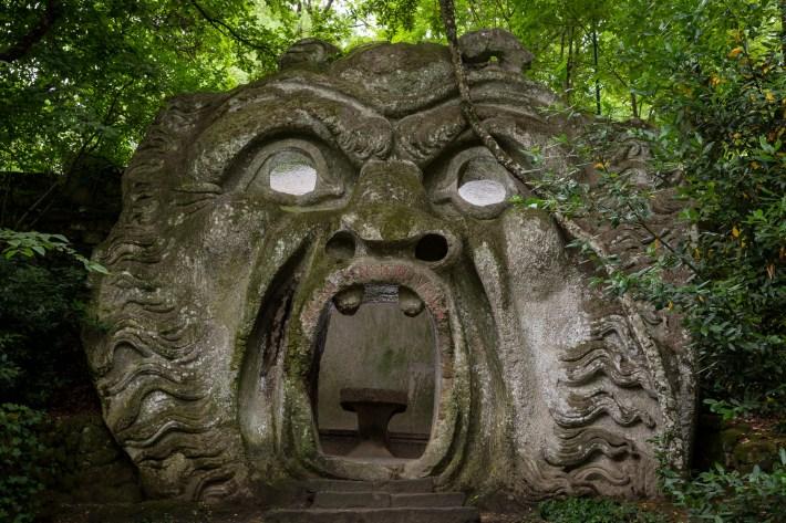 Possessed Ogre (Garden of Bomarzo)