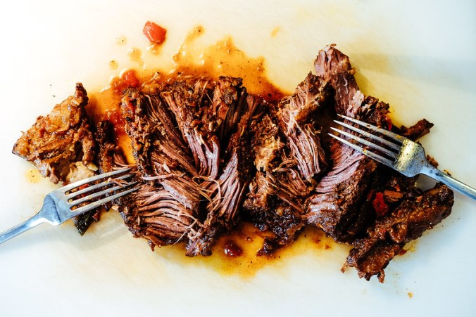 Mexicaanse pulled brisket