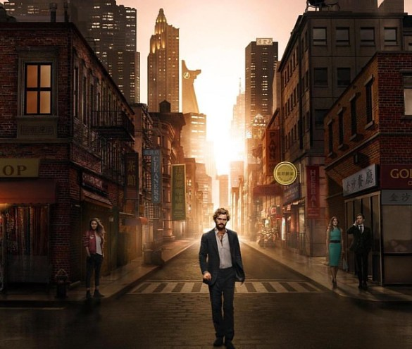 3 down, 10 to go. First thoughts: So far, so good. We're liking it. What we also like is the skyline in one of the latest Iron Fist promo pics. Do you? ;) #ironfist #netflix #marvel #marvelcomics #mcu #marvelcinematicuniverse #skyline #newyork #iloveny #
