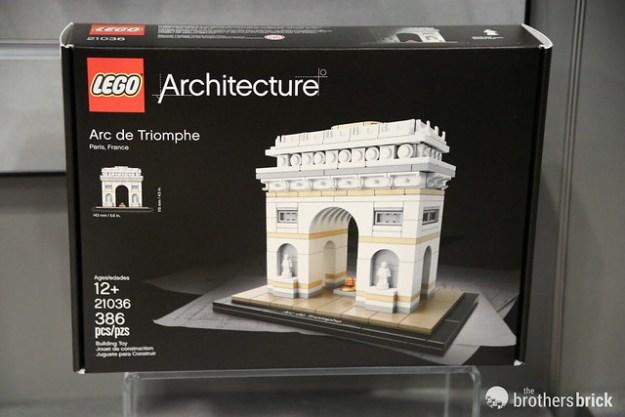 Spring 2017 LEGO Architecture Guggenheim & Arc de Triomphe sets ...