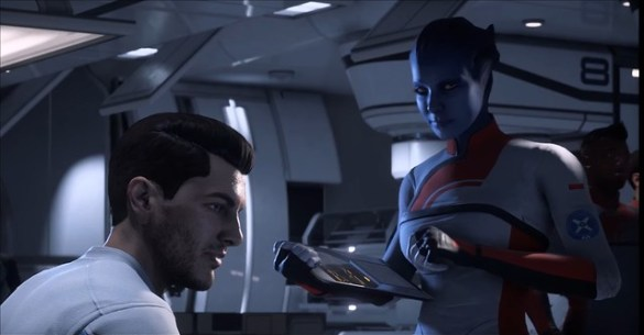 Mass Effect Andromeda - Scott Ryder Hair