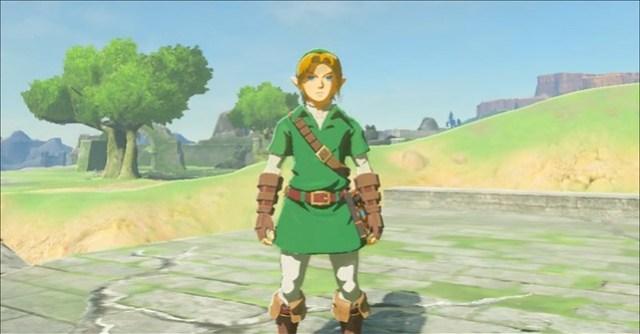 Legend of Zelda Respiro del classico costume selvaggio link