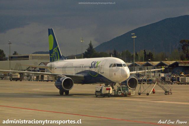 Sky Airline   Santiago   Airbus A319 CC-AIC
