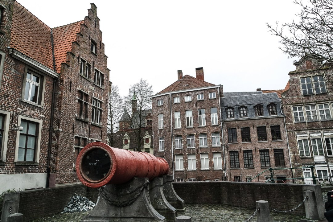 Dulle Griet, il cannone rosso di Gent