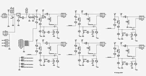 6channel power led control electrical schematic