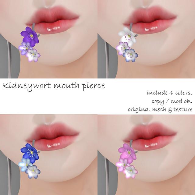 NAMINOKE Kidneywort Mouth Pierce