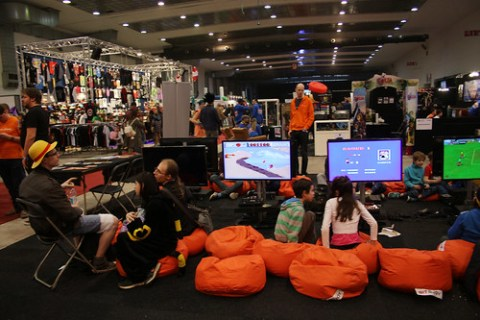Gamers at Made in Asia