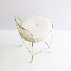 Vintage Vanity Chair Full Of Bowlies Stool George Koch Mid Centur Flickr Century Brass By Tim