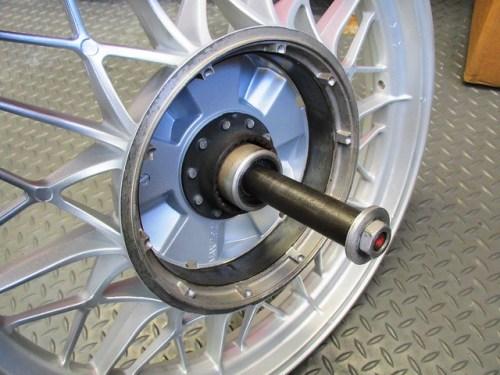 Cycle Works Wheel Sleeve Mounted on Axle