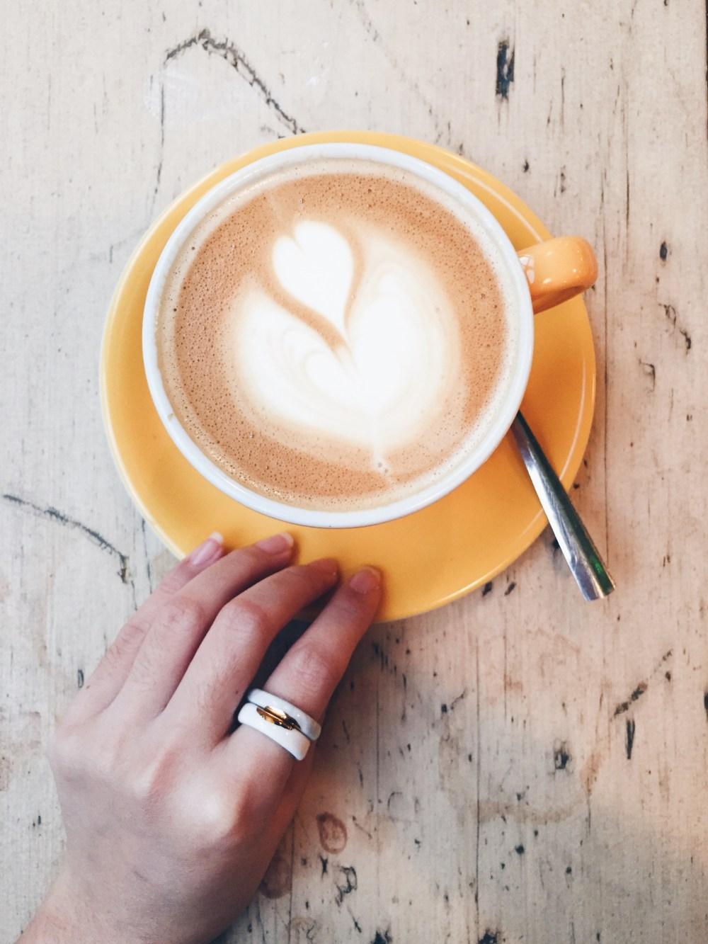 11 Dec 2016: Morning latte @ @ The Breakfast Club | London, England