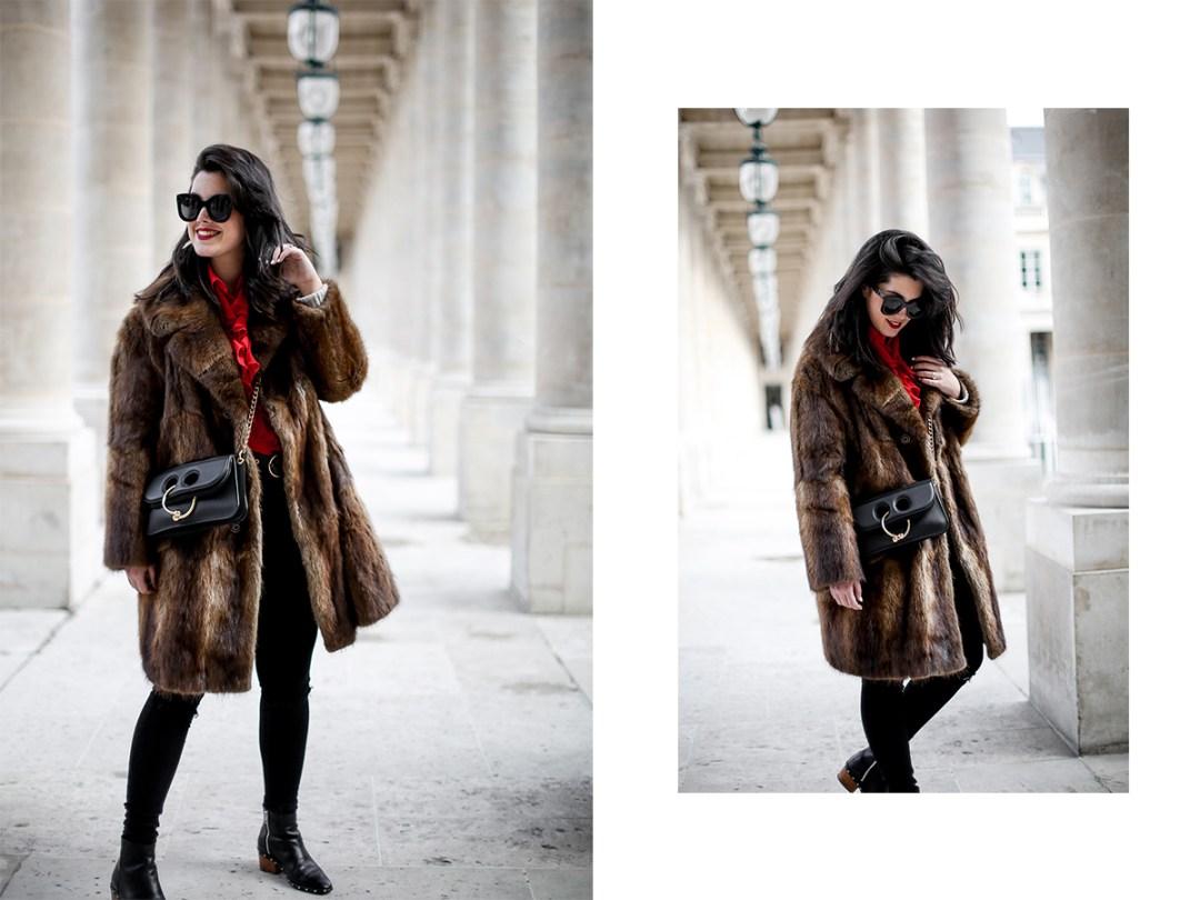 camisa-roja-volantes-pipa-de-la-paz-abrigo-pelo-vintage-look-studded-boots-myblueberrynightsblog12