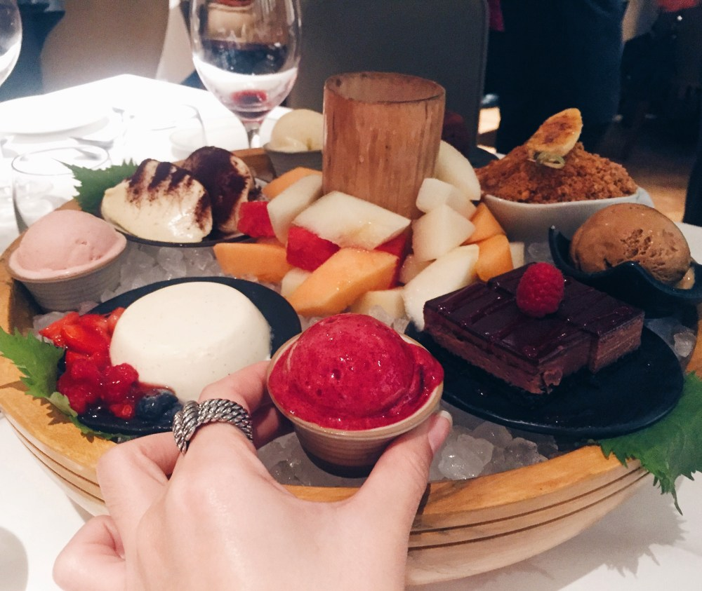 9 Dec 2016: Novikov Restaurant & Bar | London, England