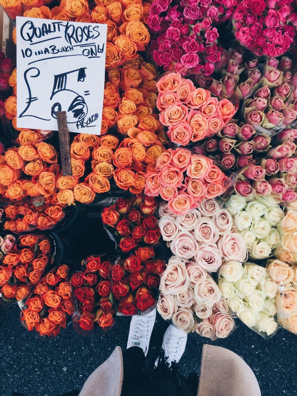 11 Dec 2016: Columbia Road Flower Market   London, England