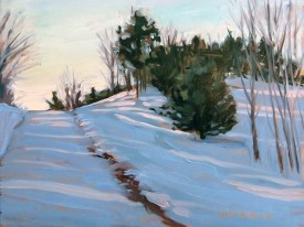 Scott Road at Sunset by Margie Guyot