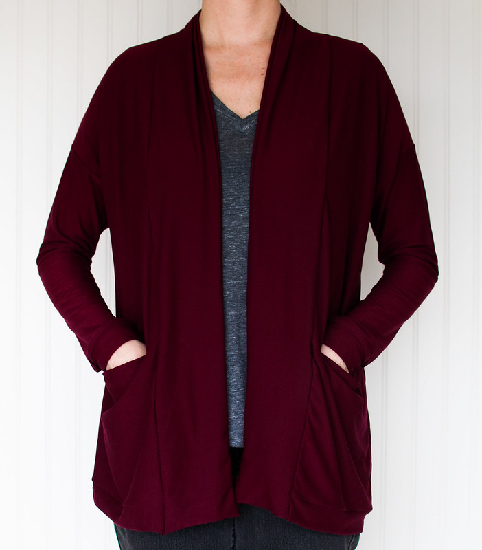 Driftless cardigan - Wide collar hack