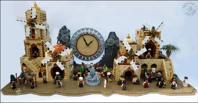 LEGO Ancheim Bravely Default Bravely Second