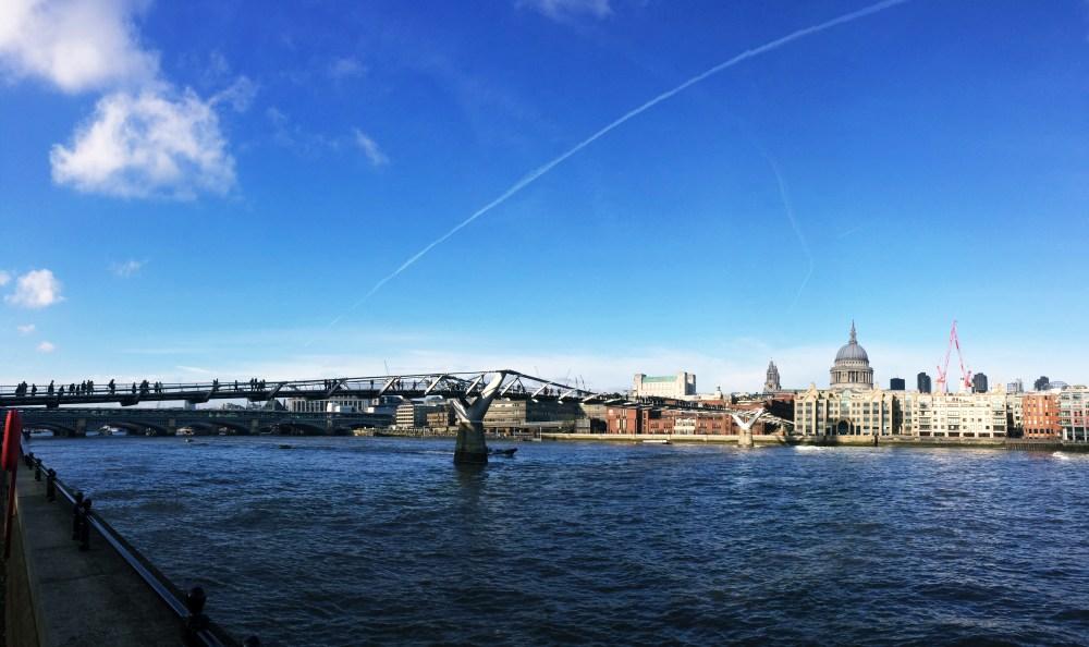 11 Dec 2016: Millennium Bridge | London, England