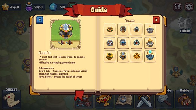 tips bermain realm defense guide