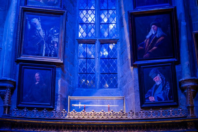 Warner Bros Studio London Harry Potter Dumbledore's Office