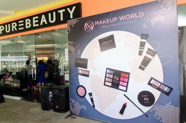 MakeUpWorld PH Launch